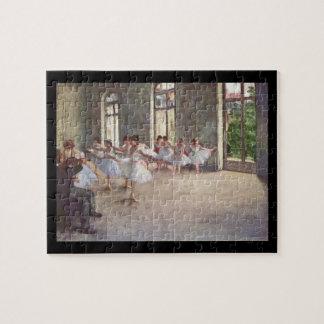 Edgar Degas | The Ballet Rehearsal Jigsaw Puzzle
