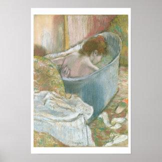 Edgar Degas | The Bath Poster