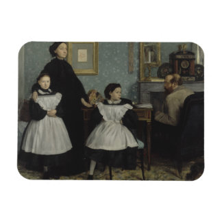 Edgar Degas - The Bellelli Family Rectangular Photo Magnet