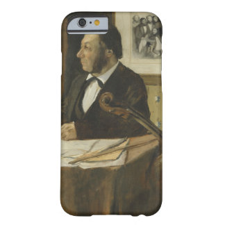 Edgar Degas -The Cellist Pilet Barely There iPhone 6 Case