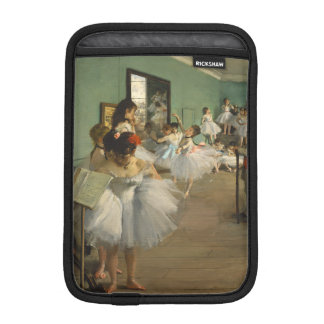 Edgar Degas-The dance class 1874 iPad Mini Sleeve