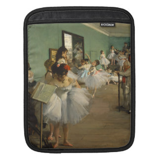 Edgar Degas-The dance class 1874 iPad Sleeve