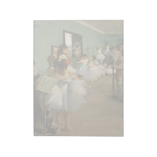 Edgar Degas-The dance class 1874 Notepads