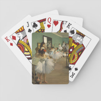 Edgar Degas-The dance class 1874 Playing Cards