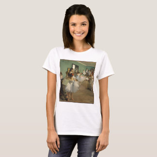 Edgar Degas-The dance class 1874 T-Shirt