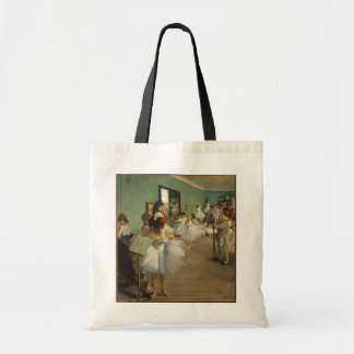 Edgar Degas-The dance class 1874 Tote Bag