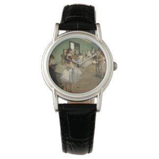 Edgar Degas-The dance class 1874 Wrist Watches