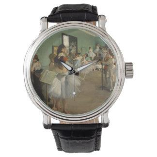 Edgar Degas-The dance class 1874 Wristwatch