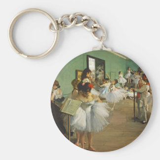 Edgar Degas The Dance Class Keychain