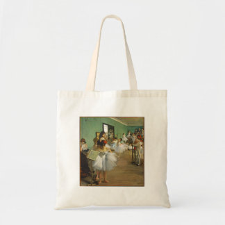 Edgar Degas The Dance Class Tote Bag