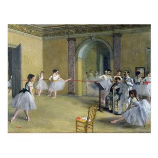Edgar Degas   The Dance Foyer Postcard
