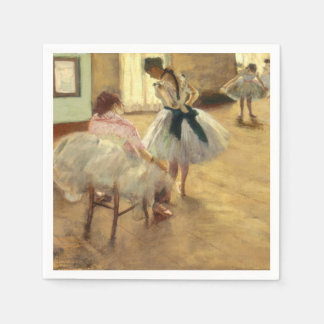 Edgar Degas The Dance Lesson Disposable Napkins