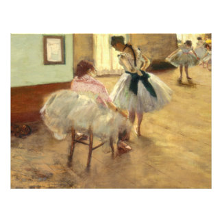 Edgar Degas The Dance Lesson Flyers