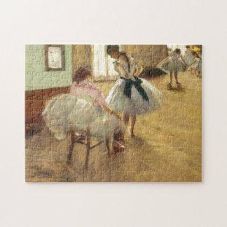 Edgar Degas The Dance Lesson Jigsaw Puzzle
