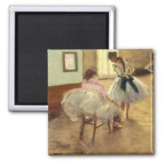 Edgar Degas The Dance Lesson Magnet