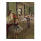 Edgar Degas   The Dancing Class, c.1873-76 Postcard