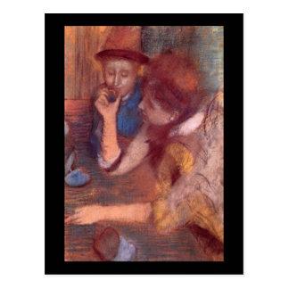 Edgar Degas The Jewels Postcard
