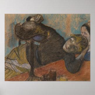 Edgar Degas - The Milliner Poster