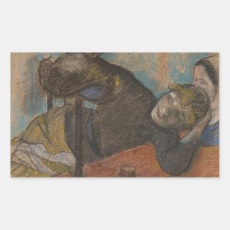 Edgar Degas - The Milliner Sticker