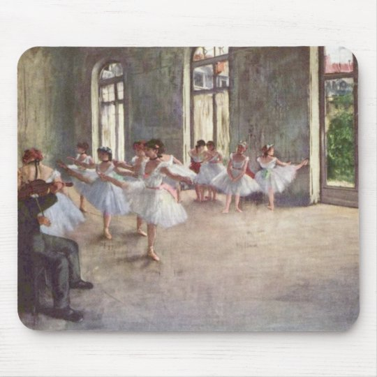 Edgar Degas' The Rehearsal Mousepad