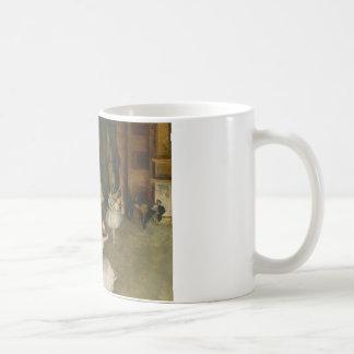 Edgar Degas - The Rehearsal of the Ballet Onstage Coffee Mug