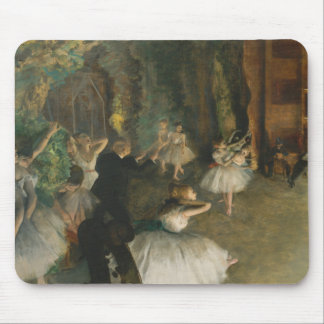 Edgar Degas - The Rehearsal of the Ballet Onstage Mouse Pad