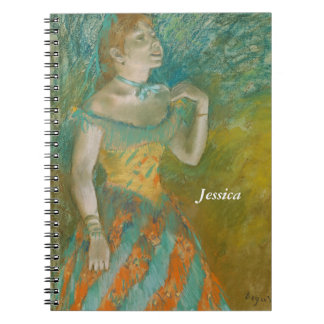 Edgar Degas The Singer in Green Notebooks