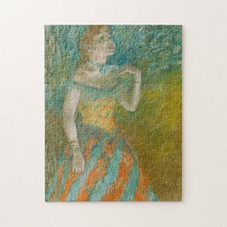 Edgar Degas The Singer Jigsaw Puzzle