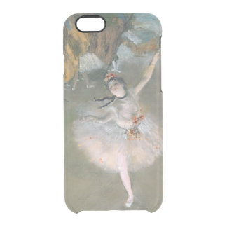 Edgar Degas | The Star, or Dancer on the stage Clear iPhone 6/6S Case