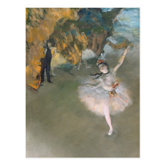 Edgar Degas   The Star, or Dancer on the stage Postcard