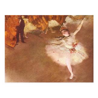 Edgar Degas The Star Postcard