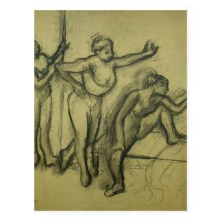 Edgar Degas | Three Dancers, c.1900 Postcard