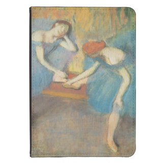Edgar Degas | Two Dancers at Rest, Dancers in Blue Kindle Cover