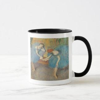 Edgar Degas | Two Dancers at Rest, Dancers in Blue Mug