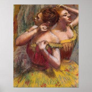 Edgar Degas | Two Dancers Poster