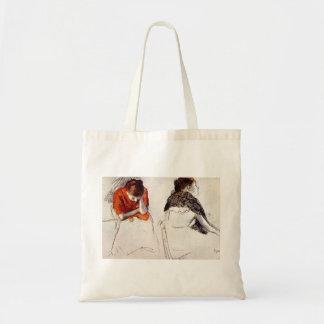 Edgar Degas - Two women seated Tote Bag