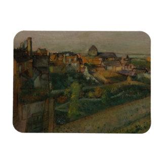 Edgar Degas - View of Saint-Valery-sur-Somme Magnet