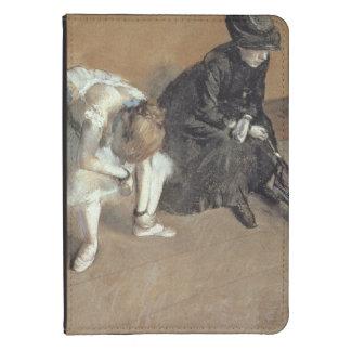 Edgar Degas | Waiting, c.1882 Kindle 4 Case
