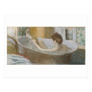 Edgar Degas | Woman in her Bath, Sponging her Leg Postcard