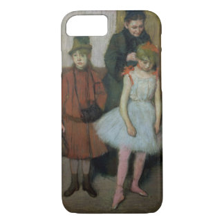 Edgar Degas | Woman with two little girls iPhone 7 Case