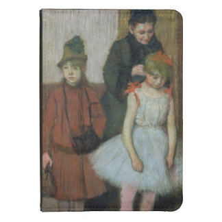 Edgar Degas | Woman with two little girls Kindle Touch Case