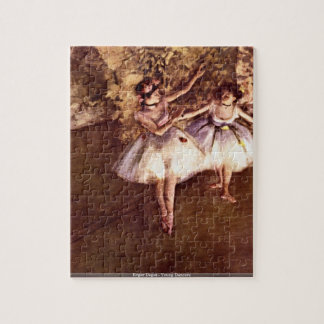 Edgar Degas - Young Dancers puzzle