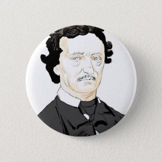 Edgar Poe 2 Inch Round Button