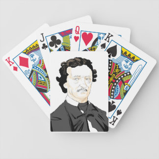 Edgar Poe Bicycle Playing Cards