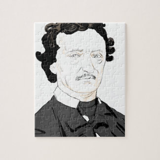 Edgar Poe Jigsaw Puzzle