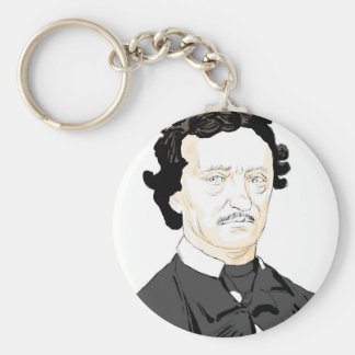 Edgar Poe Keychain