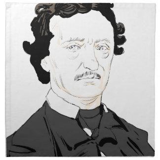 Edgar Poe Napkin