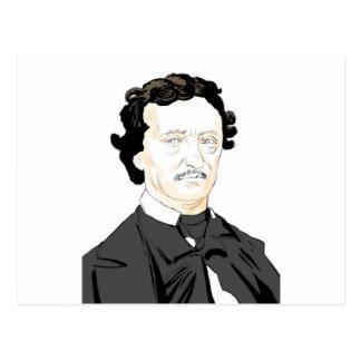 Edgar Poe Postcard