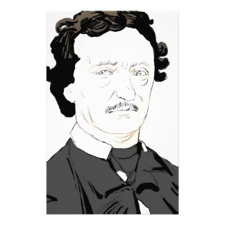 Edgar Poe Stationery
