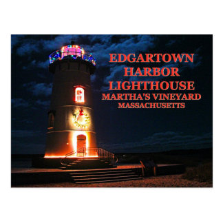Edgartown Harbor Lighthous, Massachusetts Postcard